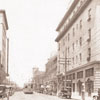 North Main Street Looking North from 200 block, 1918.