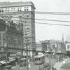 North Liberty Street at Fourth Street, 1918.