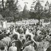 Easter Sunrise Service at God's Acre in Salem, 1941.