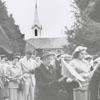 Easter Sunrise Service at Kernersville Moravian Church, 1952.