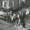 Easter Sunrise Service at God's Acre in Salem, 1963.