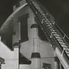 Fire at the West End Methodist Church on Brookstown Avenue, 1947.