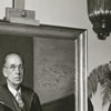 Portrait unveiling of Dr. Harold Tribble, Wake Forest College President, 1959.