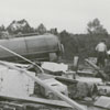 Yadkin River flood that caused damage to several towns along the river, 1940.