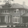 Edward L. Efird house on Country Club Road, 1924.