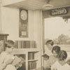Book deposit station in Southside, 1925.