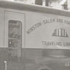 Forsyth County Public Library bookmobile, 1954.
