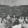 Children's story hour in the Carnegie Library, 1948.