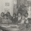 Children in the George Moses Horton Branch Library, 1942.