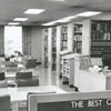East Winston Branch Library interior, 1971.