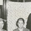 Carnegie Librarian, Janet Berkeley, with Margaret Gibson, and members of the library board, 1941.