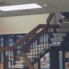 Staircase in the library's children's room.