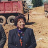 Groundbreaking for Carver School Road Branch Library, 1997.