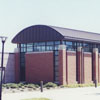 Walkertown Branch Library exterior, 1992.