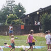 Rural Hall Branch Library children's outdoor water party.