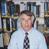 Librarian Jerry Carroll, head of the North Carolina Room.