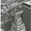 View of the Reynolds Building and the new Wachovia Building, looking down on North Main Street, 1965.