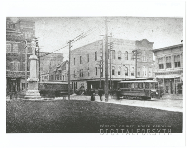 Intersection of West Fourth and North Liberty Streets.