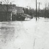 Salem Creek flood on South Main Street, 1912.