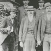 Winston police force in front of the Winston Town Hall, 1894.