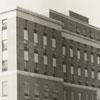 Construction of Bowman Gray School of Medicine, 1942.
