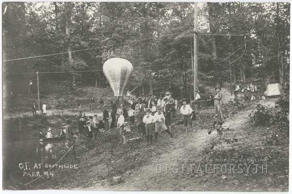 Odd Fellows picnic at Southside Park, 1894.