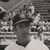 Bill Slack, manager of the Winston-Salem Red Sox, at center, 1973.
