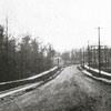 Buena Vista Road looking west from Stratford Road, pre-1931.