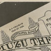 Advertisement for the Amuzu Theatre, located at 116 West Fourth Street.