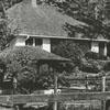 A cottage on the grounds of the Reynolda Estate, on Reynolda Road, 1970.