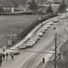 Civil rights march on Stadium Drive, 1969.
