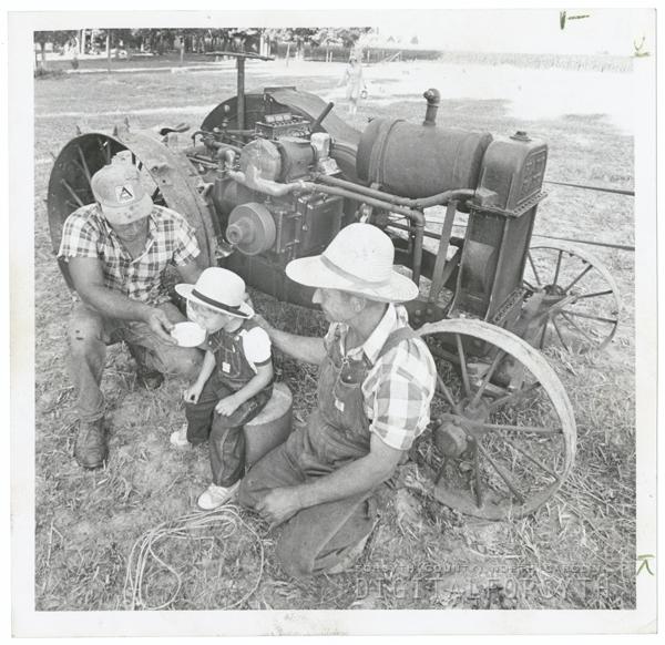 Philip Fishel, Jr., Philip Fishel, III, and Philip Fishel Sr., 1971.