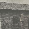 The Adam Spach rock house, located near Friedburg Moravian Church.