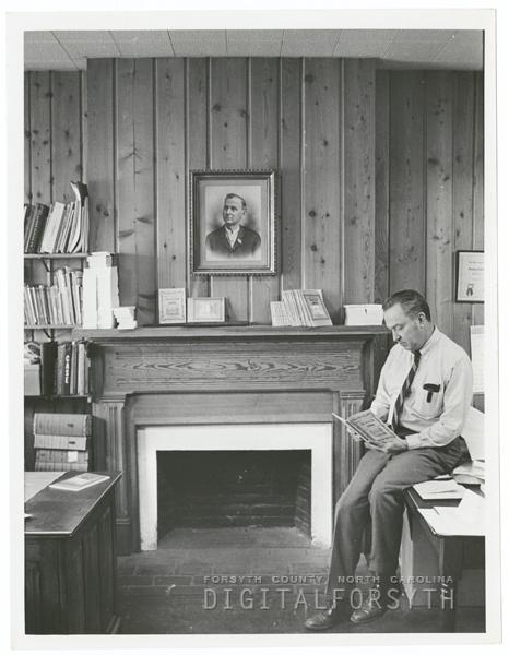 J. B. Goslen Jr. of Goslen Printing Company, 1971.