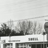 Quality Oil Company. Shell Service Station in Rural Hall, N.C.