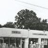 Quality Oil Company. Shell Service Station at 405 S. Green Street near Wachovia Street.