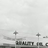 Quality Oil Company. Shell Service Station at 817 W. First Street at Green Street.