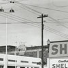 Quality Oil Company. Shell Service Station at 600 N. Liberty Street at Sixth Street, 1940.