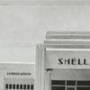 Quality Oil Company. Shell Service Station at 1250 Patterson Avenue and Northwest Boulevard, 1936.