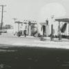 Quality Oil Company. Shell Service Station at 405 S. Green Street, corner of Wachovia Street.