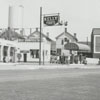 Quality Oil Company. Shell Service Station at 700 N. Liberty Street, corner of Seventh Street.