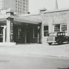 Quality Oil Company. Shell Service Station at 223 N. Spruce Street at Holly Avenue.
