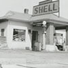 Quality Oil Company. Wayne Staley Shell Service Station at Muddy Creek.