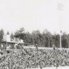 Stock car race at Bowman Gray Stadium, 1957.