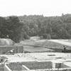 Construction of Reynolds Park gymnasium, 1939.