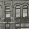 Hanes Building in the 300 block of N. Liberty Street, 1939.