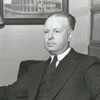 Christian O. Weber, minister of Fairview Moravian Church, 1938.