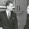 Jim Gray and Gordon Gray, publishers of the Winston-Salem Journal and Twin City Sentinel, 1960.