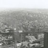 Aerial of the city looking southeast from the Reynolds Building, 1936.