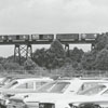 Winston-Salem Southbound railroad bridge, 1972.
